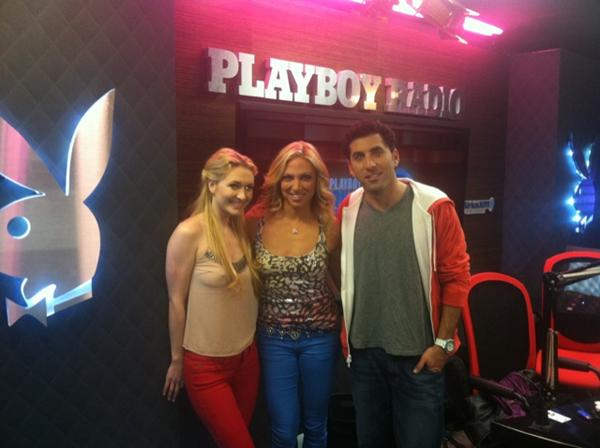 Debbie Gibson at Playboy