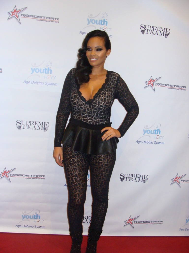 Evelyn Lozada arrives her Birthday Party at Supperclub in Hollywood