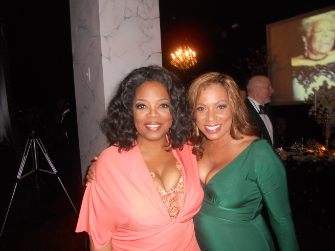 Rolanda Watts and Oprah